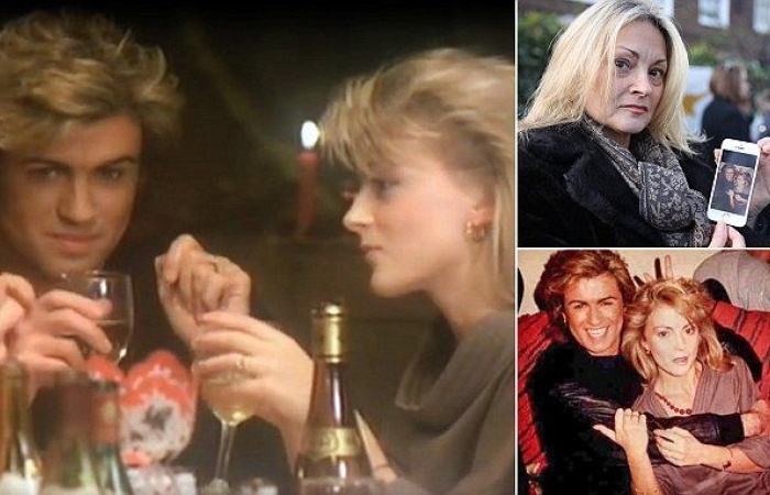 george michaels last christmas girlfriend debbie killingback paid her respect to george michael wham last christmas wham george michael last christmas - Wham Last Christmas Pudding Mix