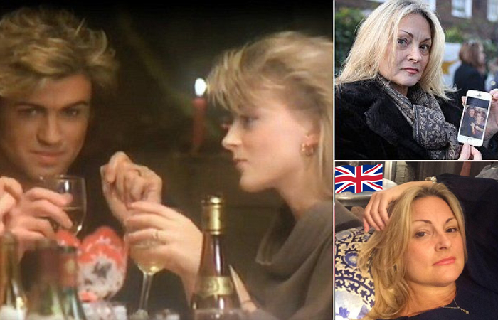 george michael last christmas girlfriend then and now