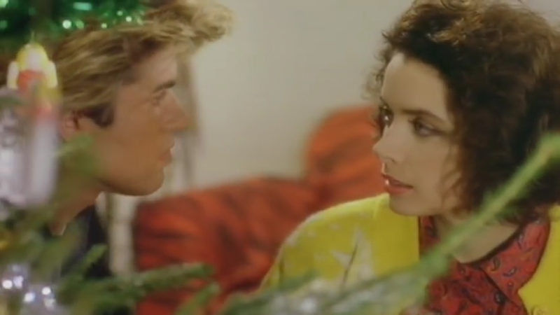 Wham Last Christmas George Michael Kathy Hill