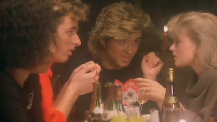 Wham Last Christmas Martin Kemp and George Michael