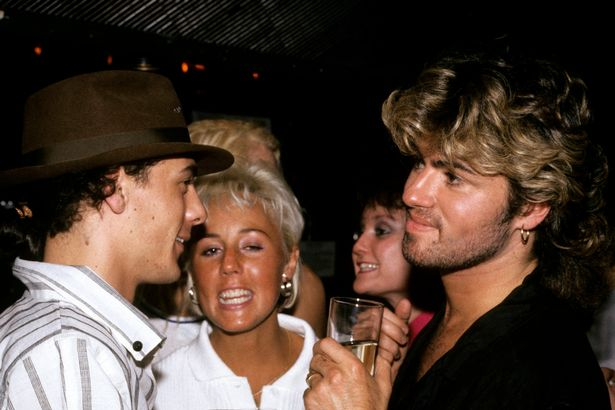 George Michael and Shirlie Holliman